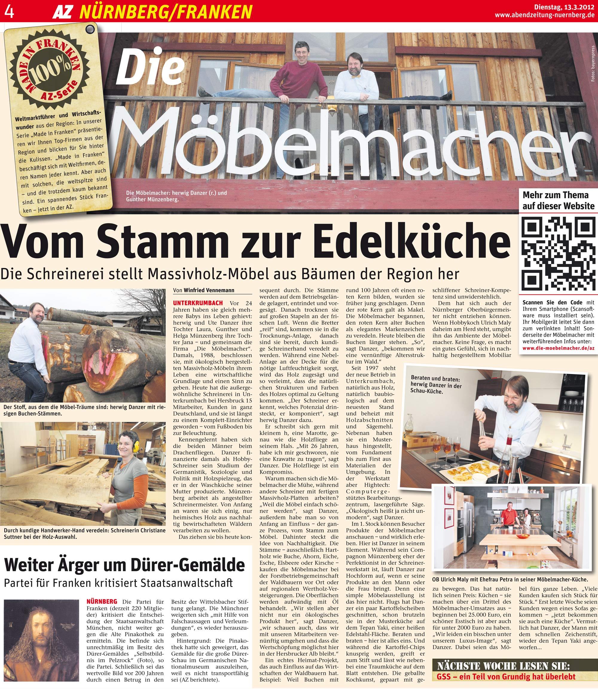 Presse die m belmacher - Die mobelmacher ...