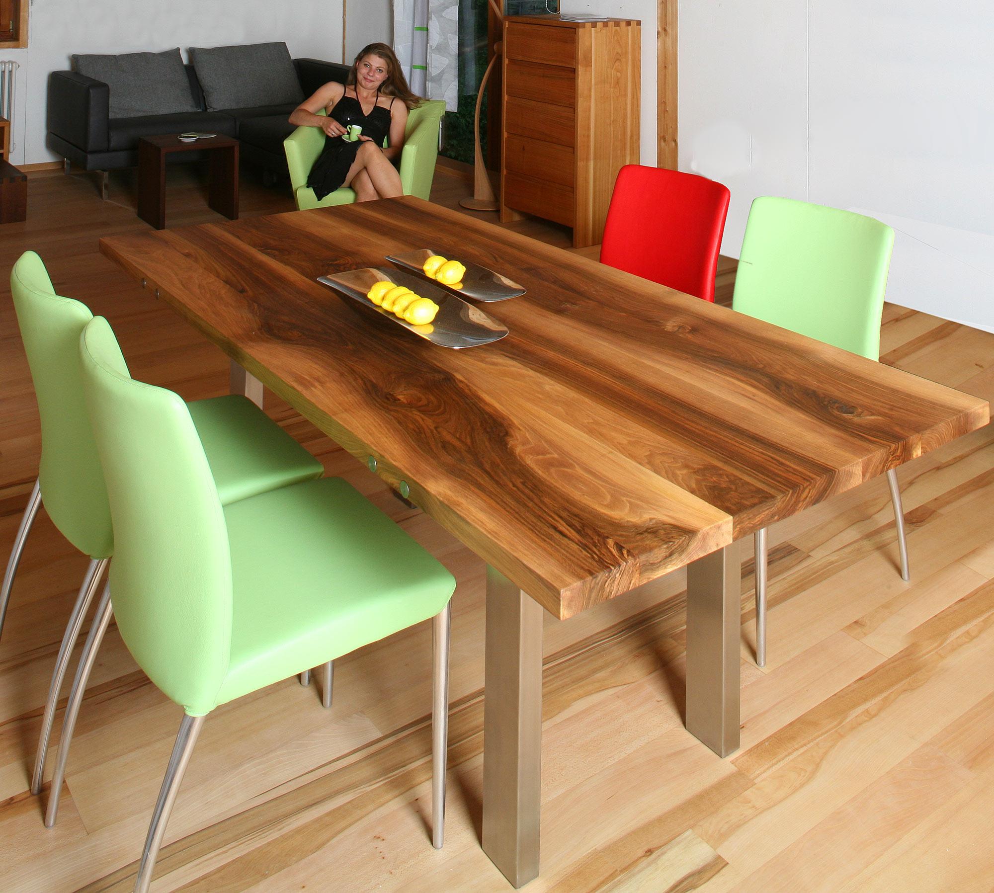 Schöne Holztische massivholztische und essplätze 2012 die möbelmacher