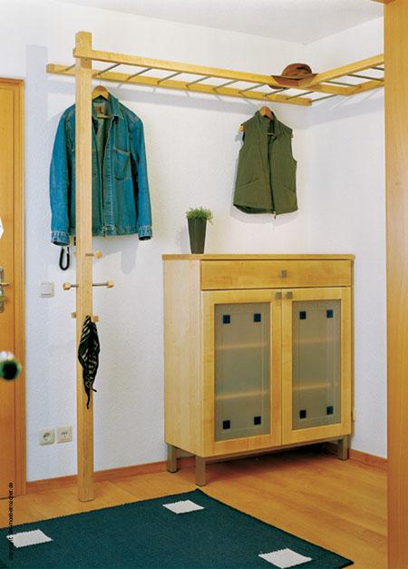 Garderobe Leiter garderobenbeispiele 1988 2014 die möbelmacher