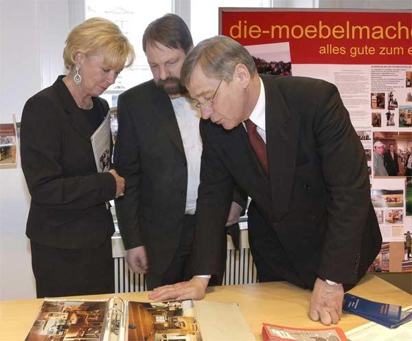 Handwerkspreis die m belmacher - Die mobelmacher ...