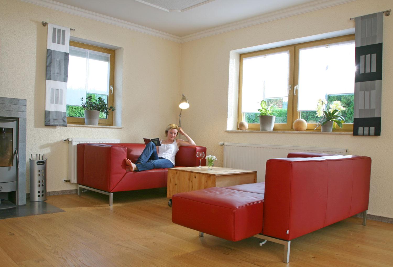Massivholz Wohnzimmer Aus Heimischem Ahorn Von Den Mobelmachern Aus