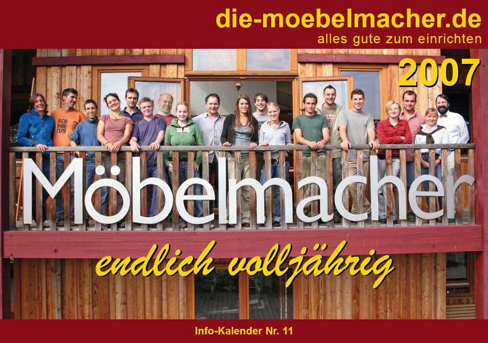 Kalender 2007 die m belmacher - Die mobelmacher ...