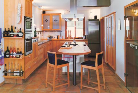 massivholzk chen 2001 mit landhaus in modern und. Black Bedroom Furniture Sets. Home Design Ideas