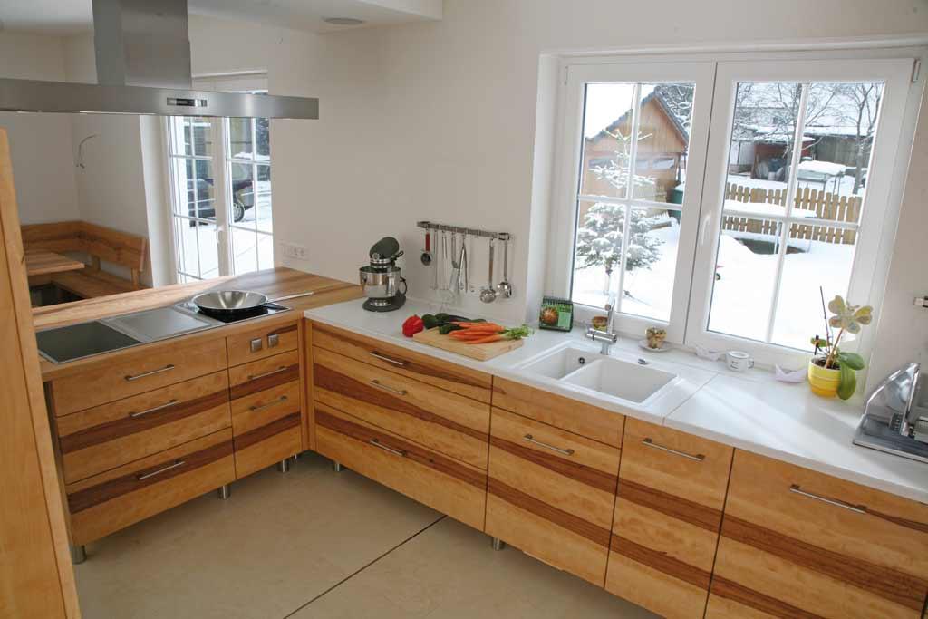 k chen aus massivem holz der m belmacher 2012 die m belmacher. Black Bedroom Furniture Sets. Home Design Ideas