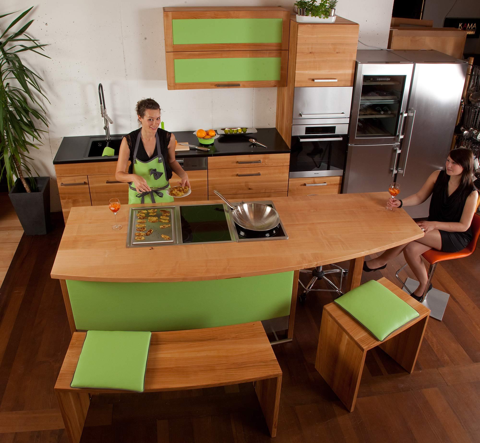 Tag der Küche aus Massivholz am 28.9.2013: Die Möbelmacher