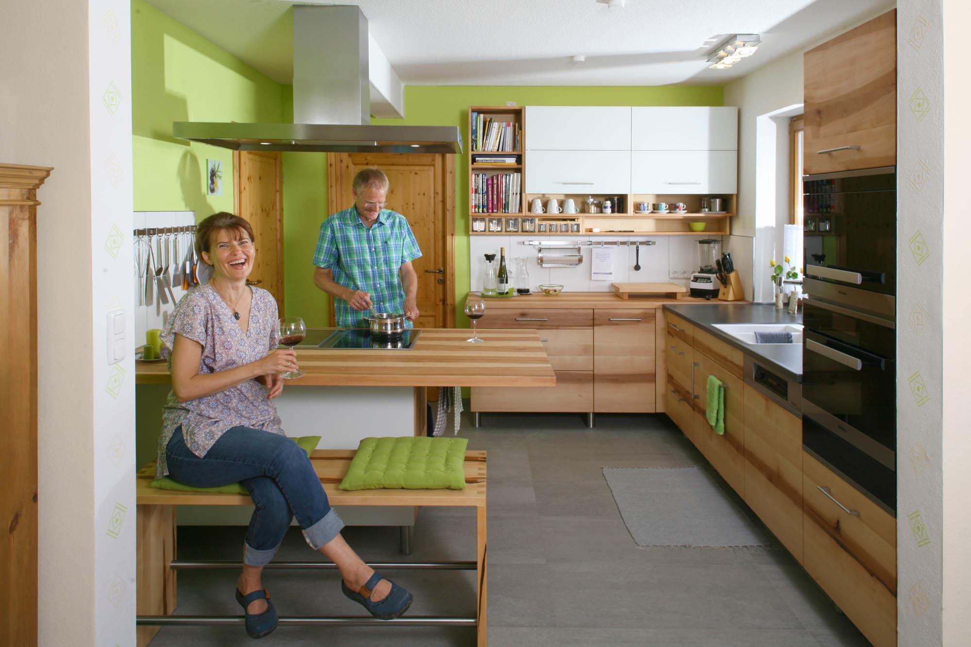 Die Möbelmacher massivholzküche aus fränkischer elsbeere die möbelmacher