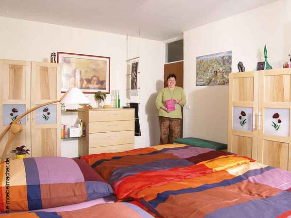 Gerdi Gennrichs Neues Schlafzimmer: ...