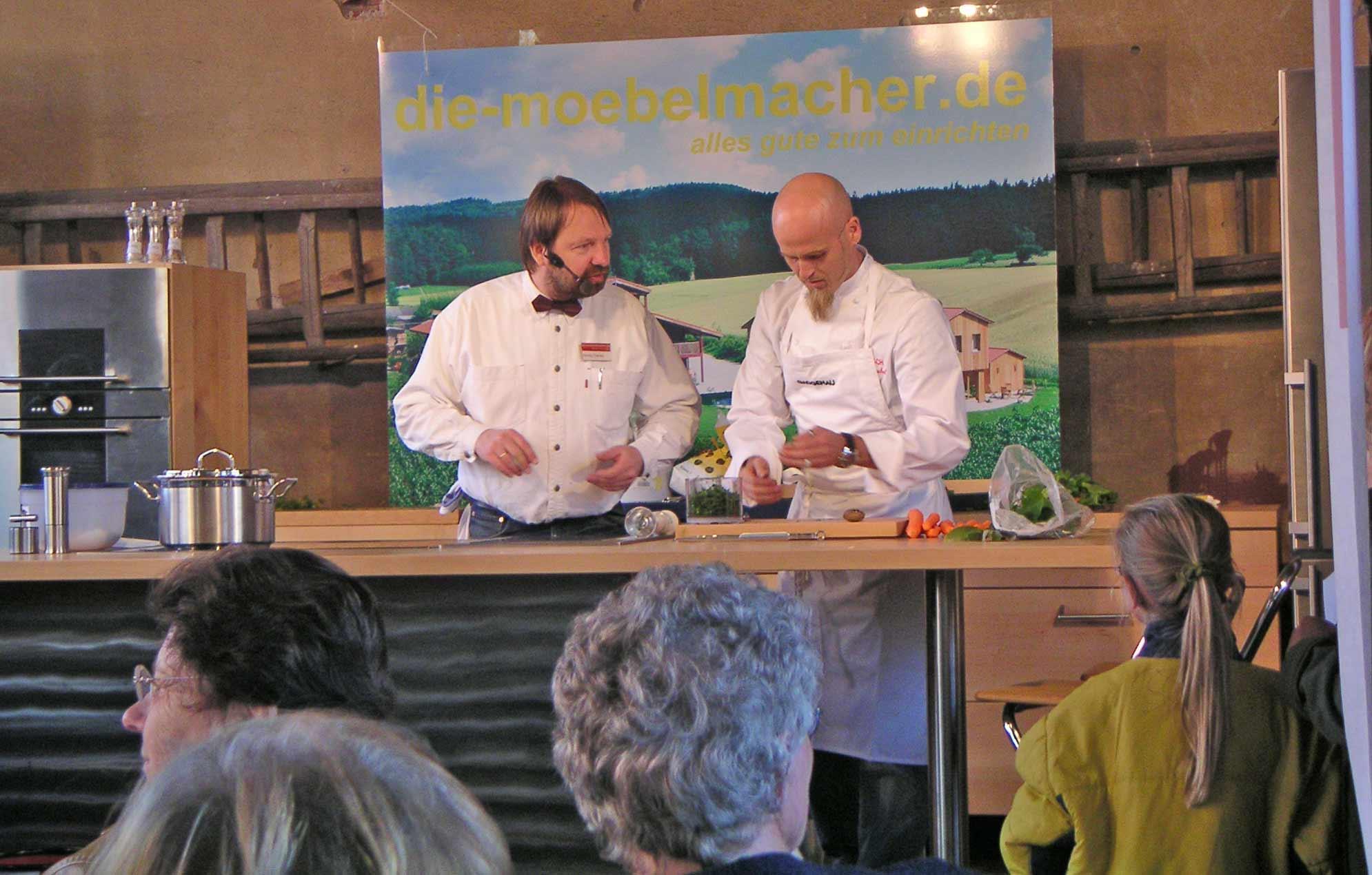 Kochworkshops die m belmacher - Die mobelmacher ...