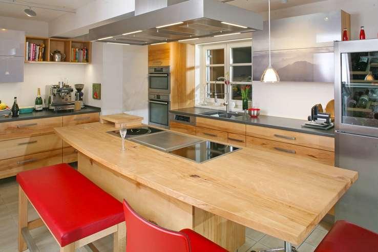 Massivholzküchen, Vollholzküche, Designküche, Holzküche aus ...