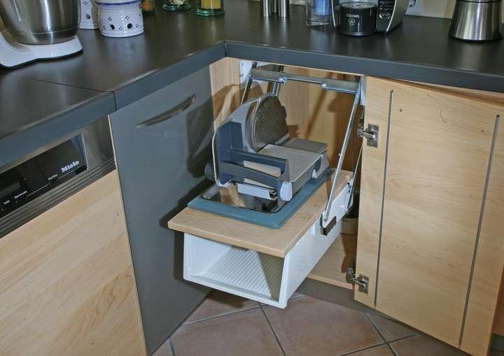 Ahorn-Massivholzküche: Die Möbelmacher