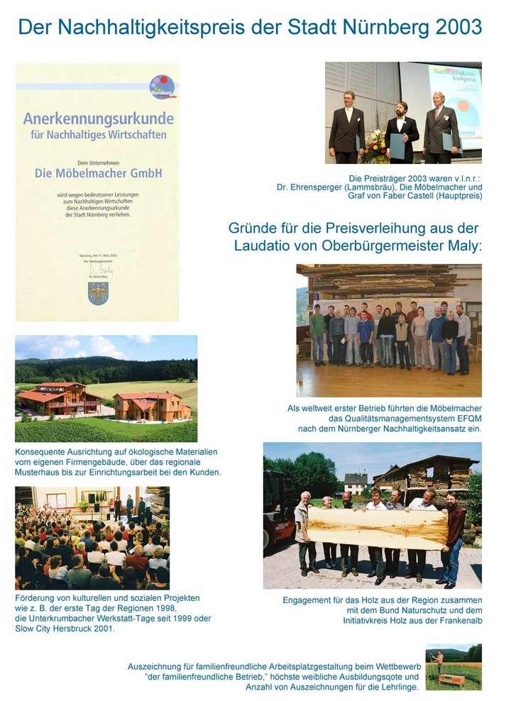 Nachhaltigkeitspreis Stadt Nürnberg: Die Möbelmacher