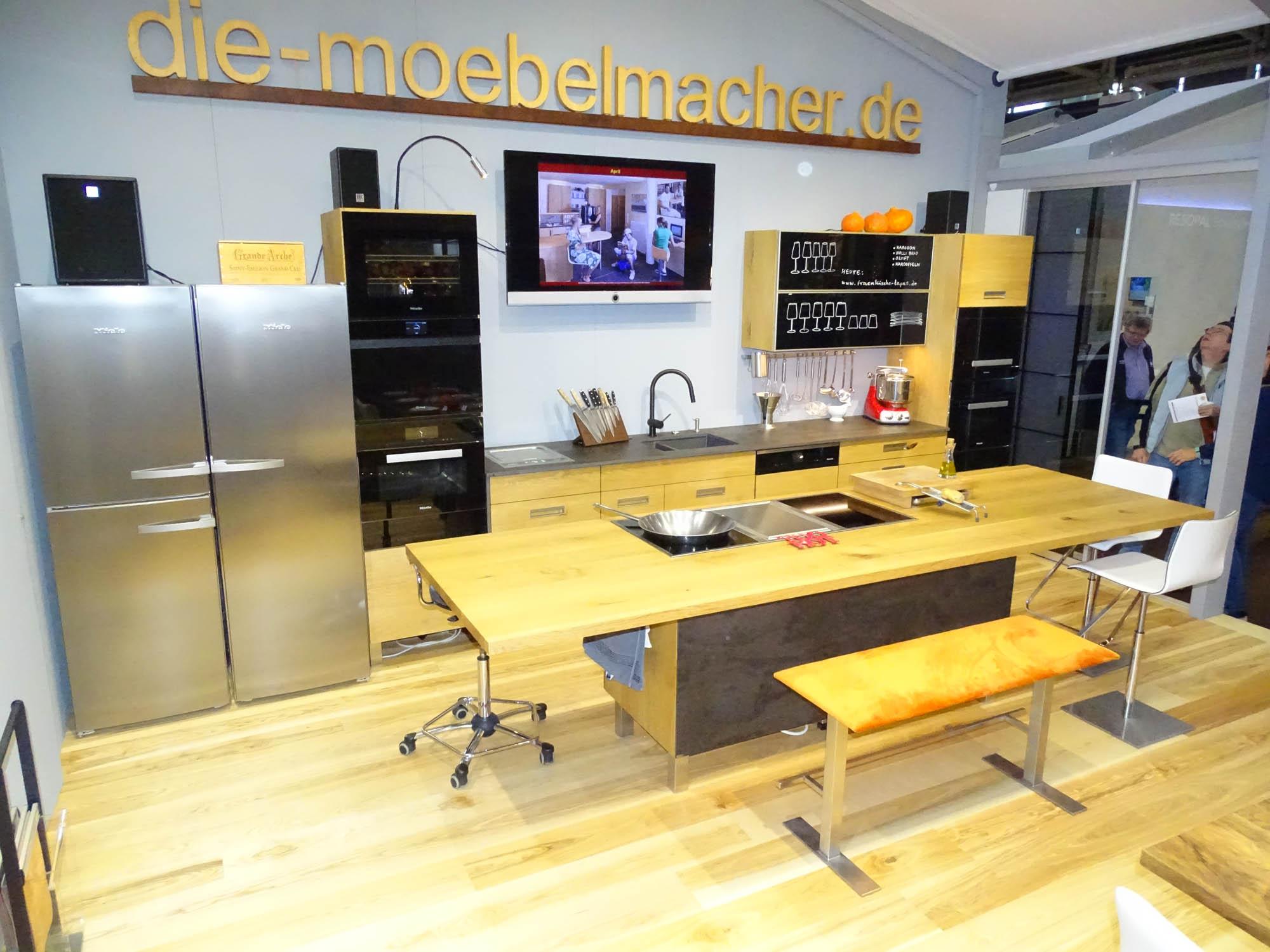 Massivholzküchen der Möbelmacher 2017: Die Möbelmacher