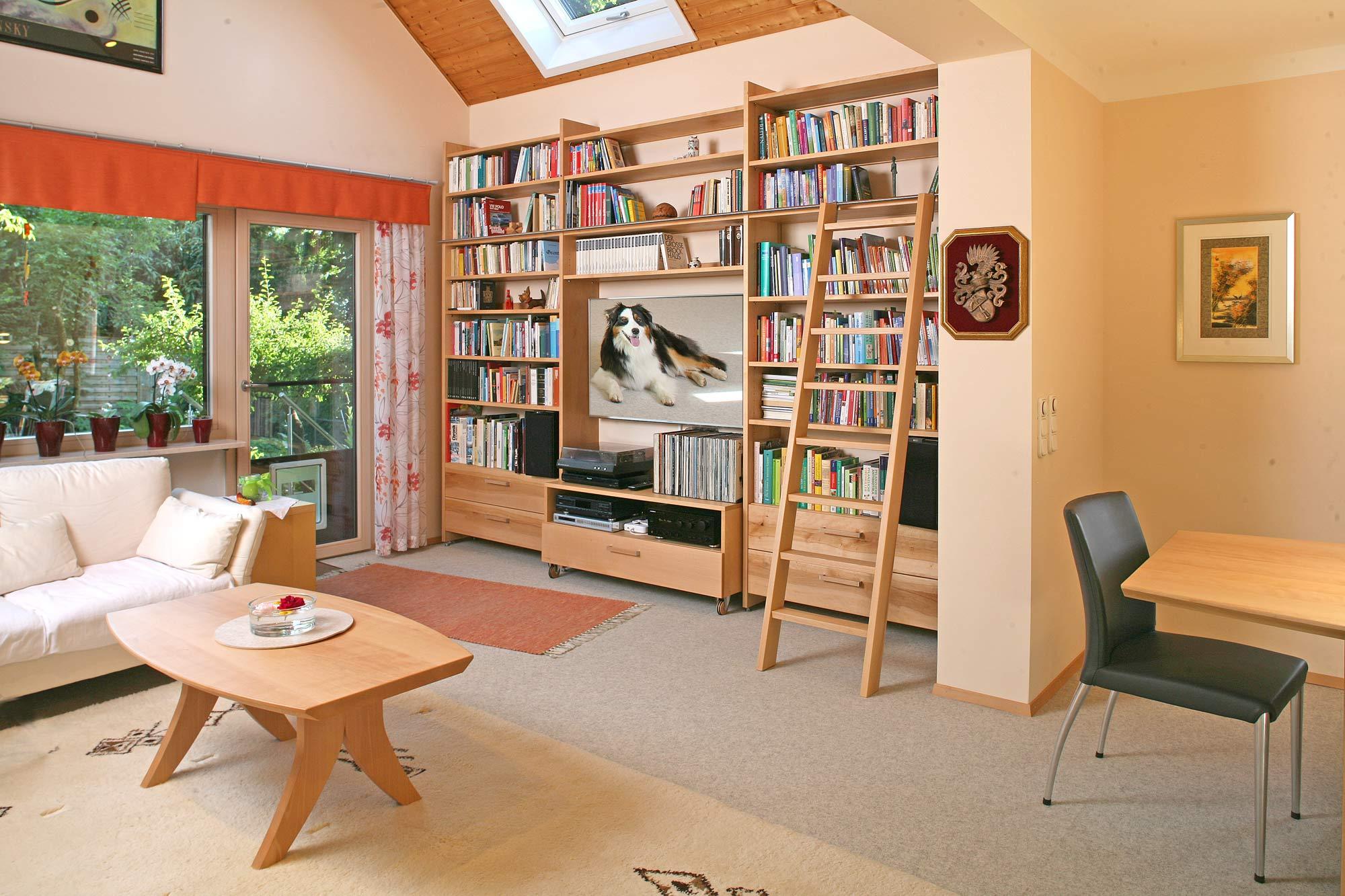 Massivholzmobel Im Wohnzimmer Bis 2020 Die Mobelmacher
