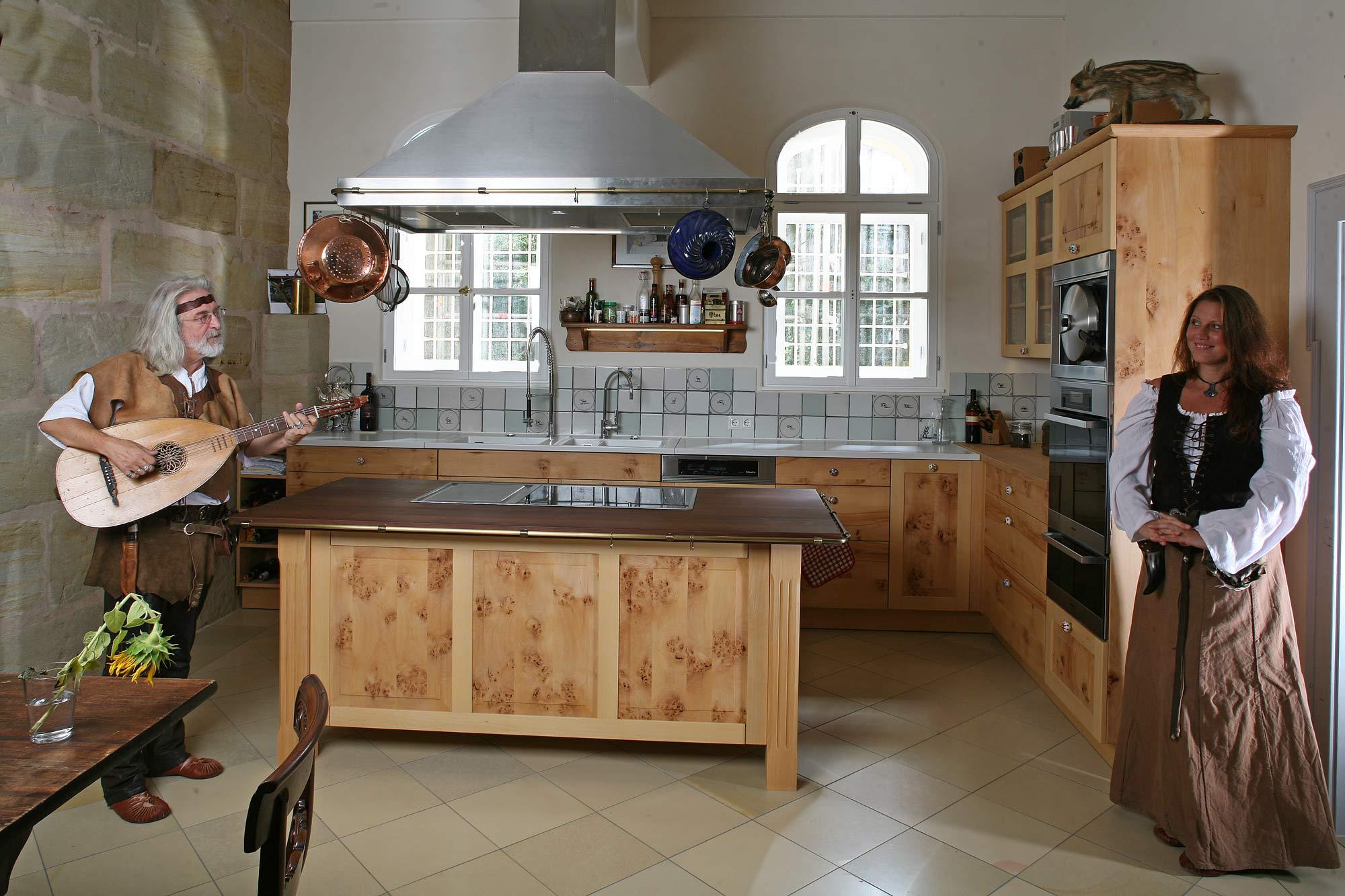 Massivholzküchen, Vollholzküche, Designküche, Holzküche aus Buche ...